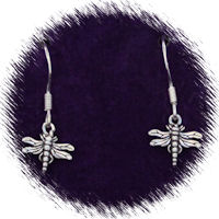 Sterling Silver Dragonfly (Small) Earrings