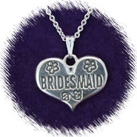 Bridesmaid's Heart (Large)