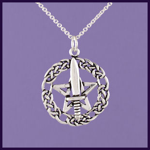 Witches Athame Pentagram
